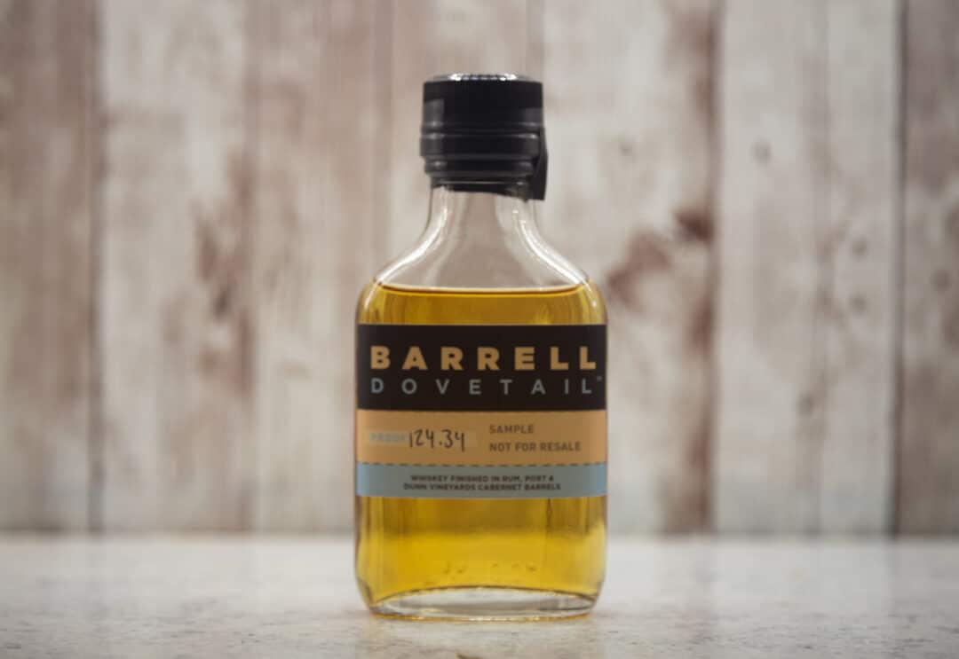 Barrell Dovetail 123.34 proof