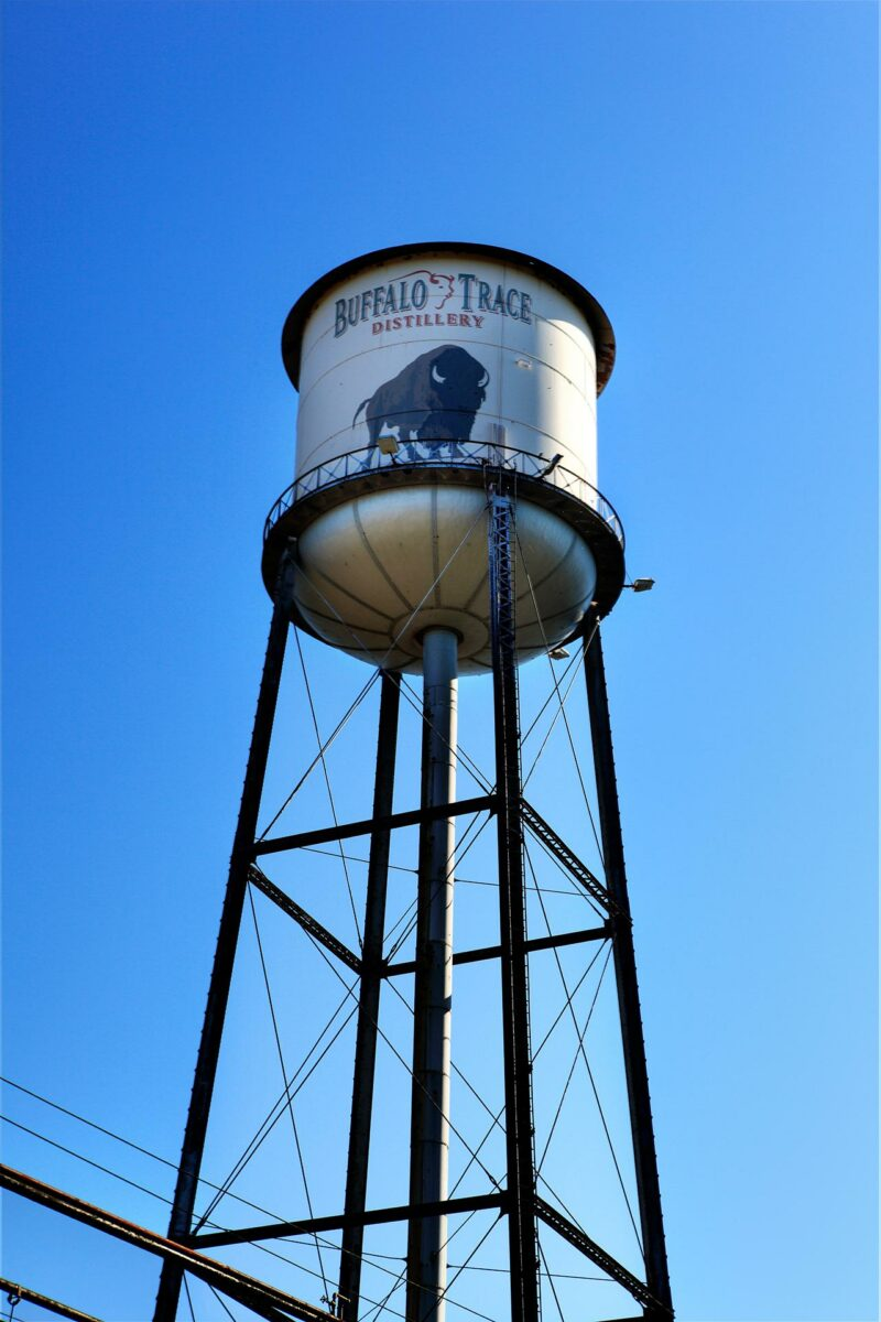 Iconic Water Tower at Buffalo Trace Distillery (Photo: Buffalo Trace Distillery)
