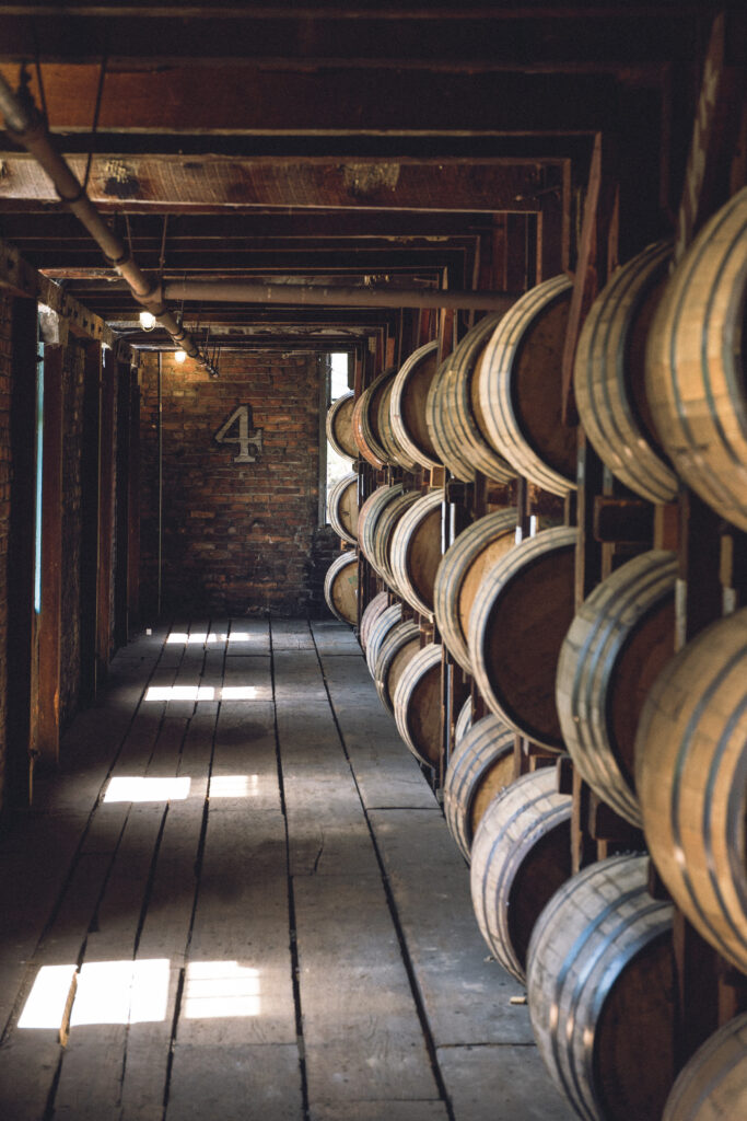 4th Floor, Warehouse H (photo: Buffalo Trace Distillery)